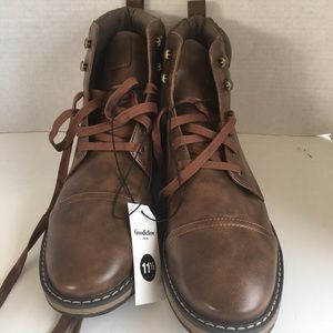 Goodfellow & Co Jeffrey Light Brown Boots